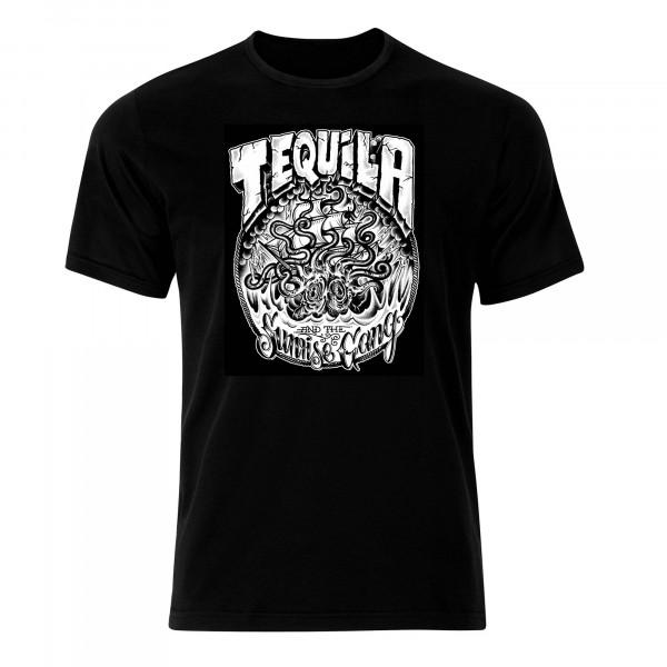 Tequila & The Sunrise Gang - T-Shirt - Krake