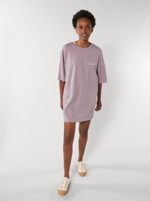 F**ck You Dip Dye Unisex Oversized T-Shirt Dress