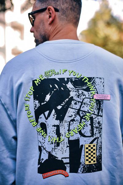 RAD RACE - Stop Me Crewneck (Limited Edition)