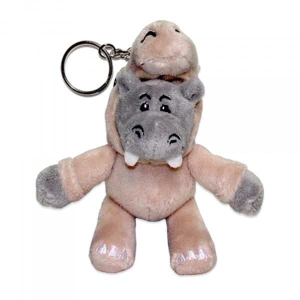 Plüsch-Schlüsselanhänger - Hipporhino