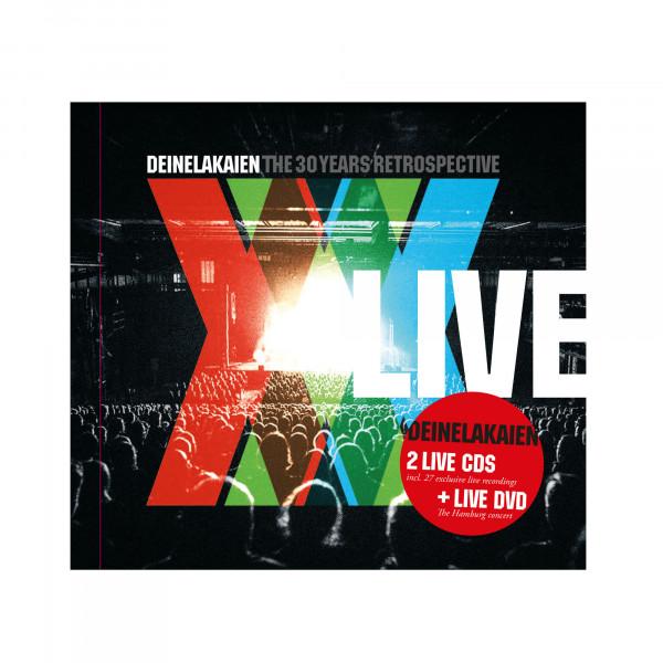 CD/DVD Mediabook (LIVE) - The 30 Years Retrospective (2CD / 1DVD)