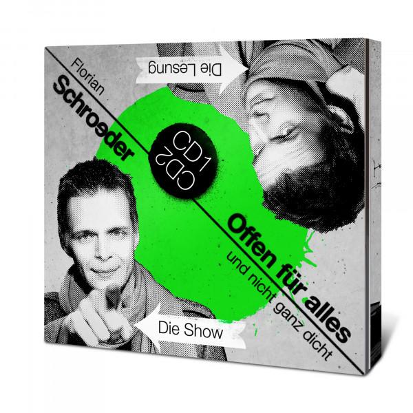 Florian Schroeder CD - Offen für alles und nicht ganz dicht