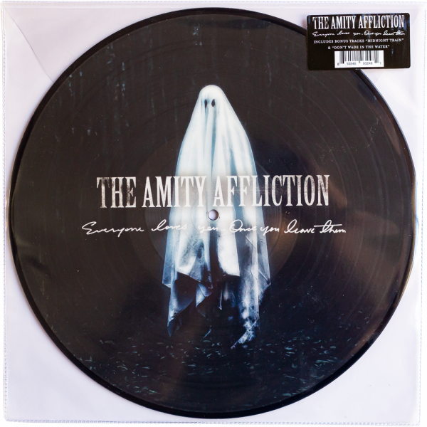 """The Amity Affliction - Everyone Loves You Once You Leave Them (LP 12"""" 4th Pressing )"""