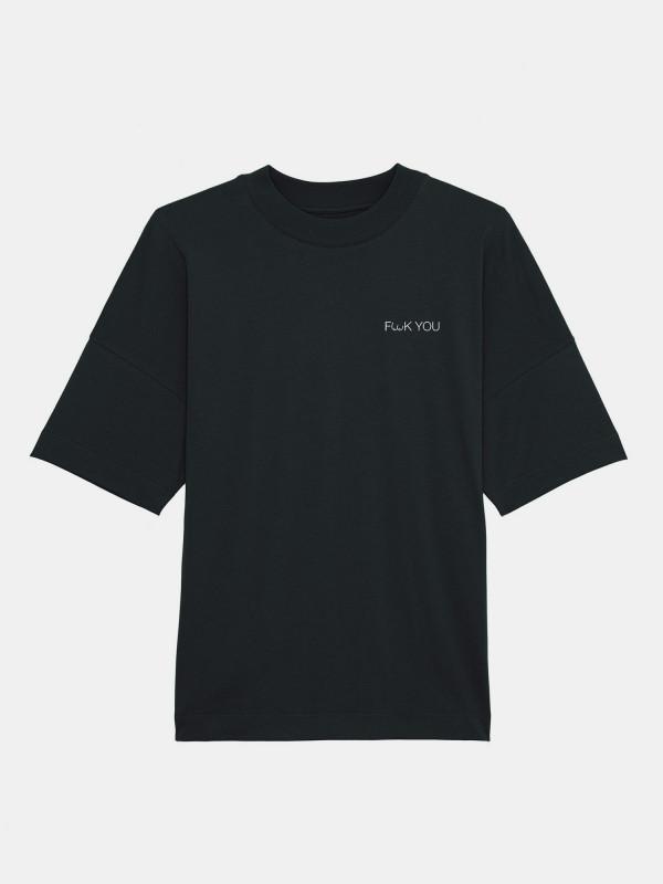 F**ck You High-Neck Unisex T-Shirt