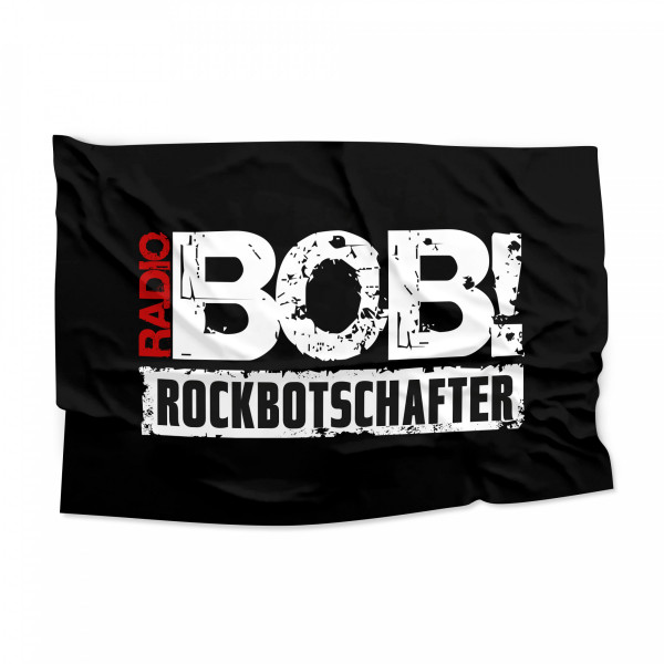 "RADIO BOB! - Flagge ""Rockbotschafter"""