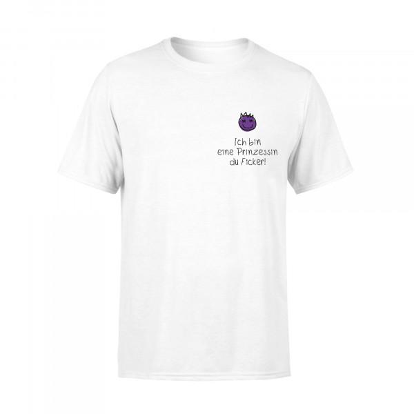 Unisex - T-Shirt - Prinzessin Pocket