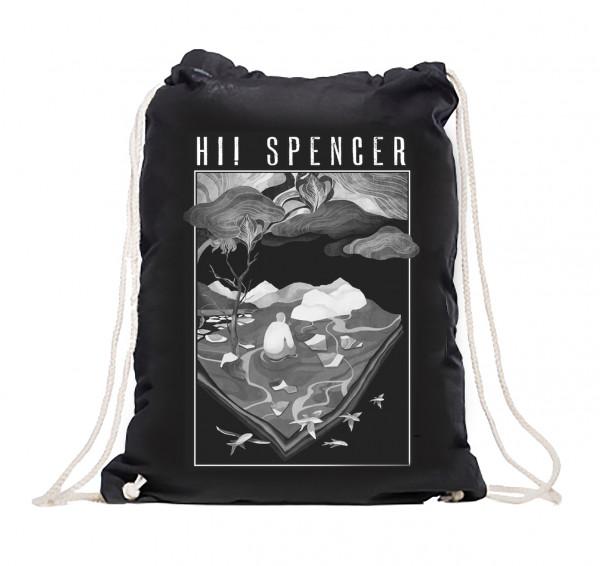"""Hi! Spencer - Gymbag - """"Kopf in den Wolken""""-Spiegellandschaft"""