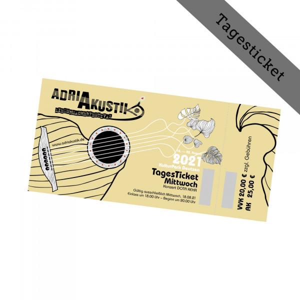 Hardticket - adriAkustik Festival - Tagesticket 18.08.2021 - Konzert DOTA
