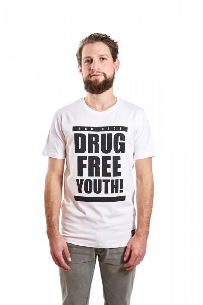 RAD RACE - Drug Free Youth T-Shirt