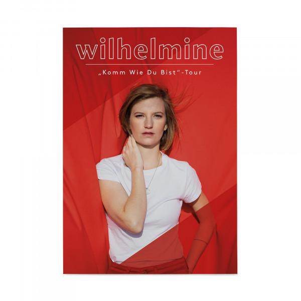 Wilhelmine Tourposter - Komm wie du bist