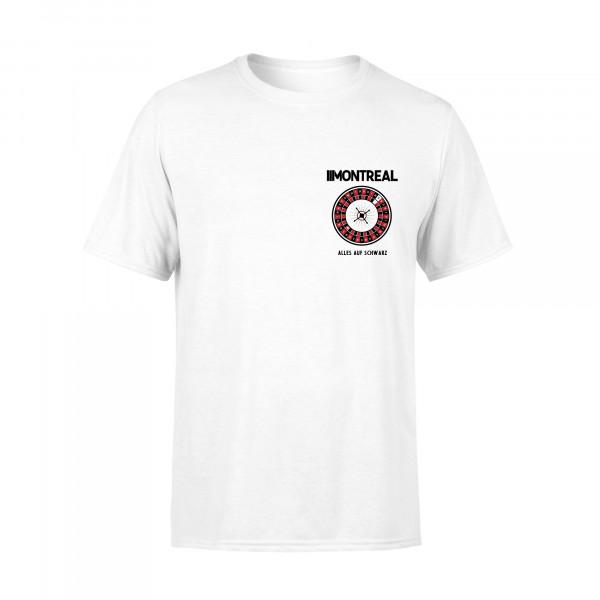 T-Shirt - Kessel, weiss