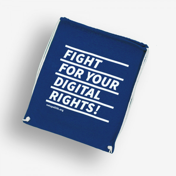 Turnbeutel - Fight For Your Digital Rights