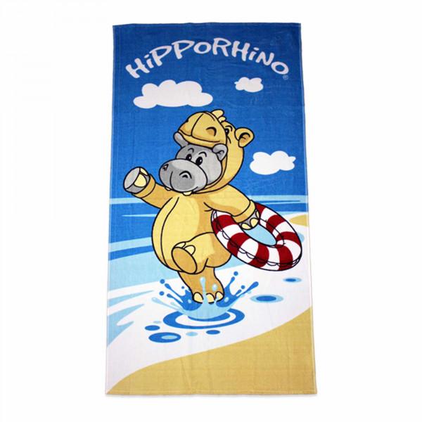 "Badehandtuch - Hipporhino ""Strandspaß"""