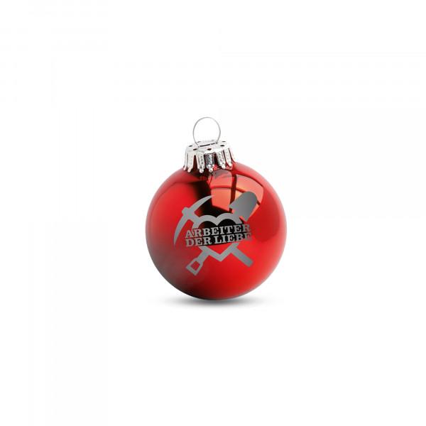 Weihnachtskugel - Arbeiter der Liebe