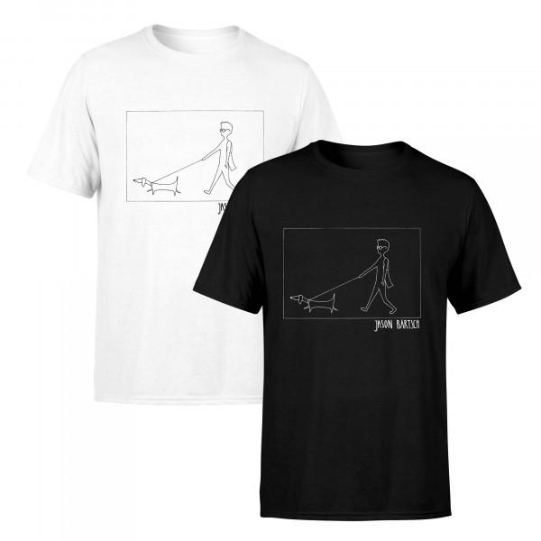 Jason Bartsch T-Shirt - Hund (unisex)