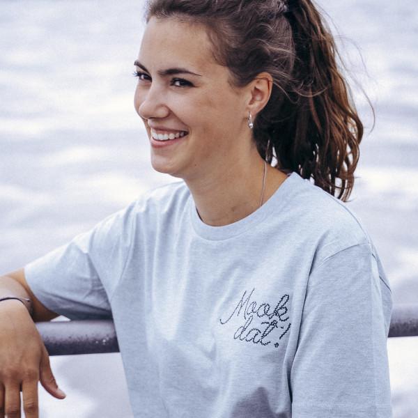 T-Shirt - Mook Dat, muschelblau
