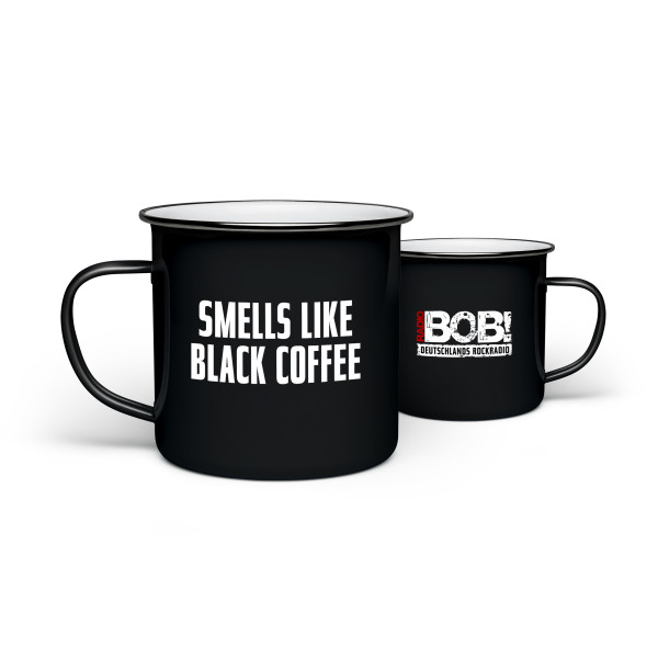 "RADIO BOB! Tasse Emaille - ""Smells like…"""