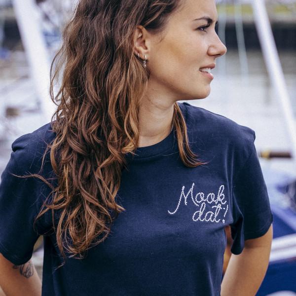 T-Shirt - Mook Dat, meeresblau