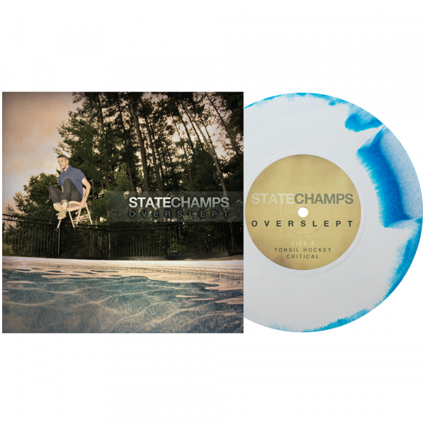 """State Champs - Overslept (LP 7"""" - 3rd Pressing)"""