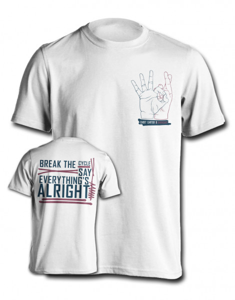Cadet Carter - T-Shirt - Oakheart Clothing Collabo