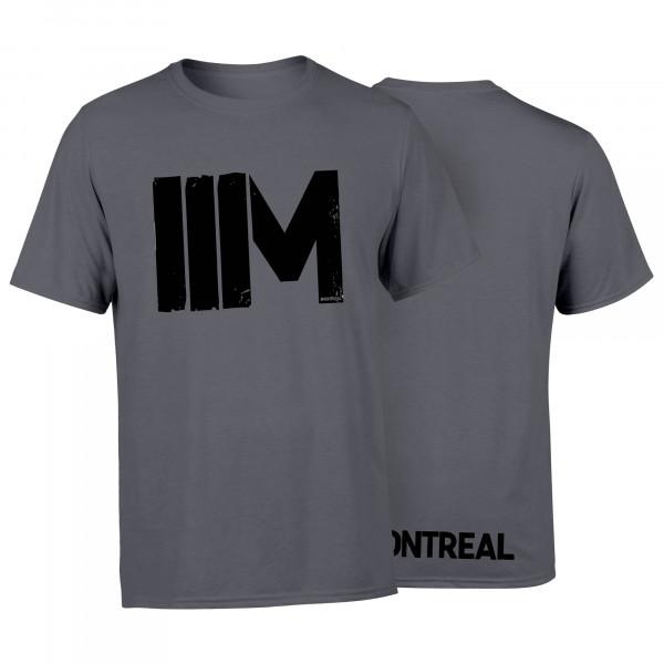 T-Shirt - IIM, grau