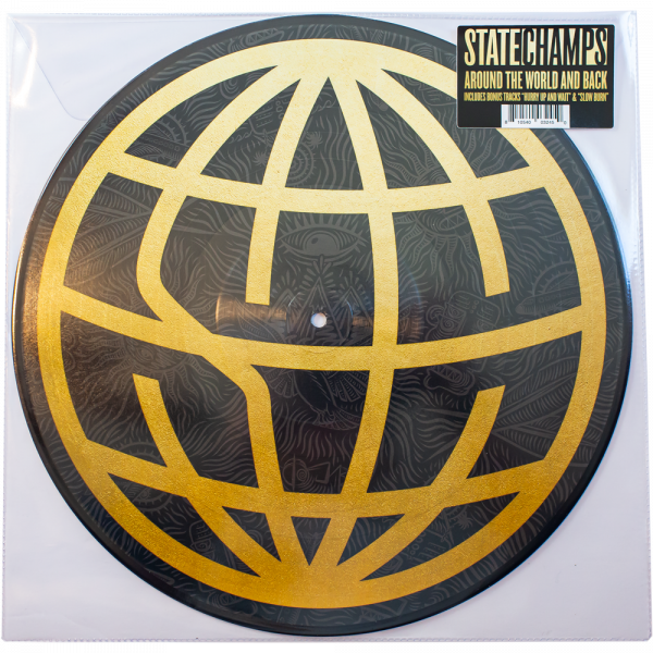 """State Champs - Around The World And Back (LP 12"""" 3rd Pressing)"""
