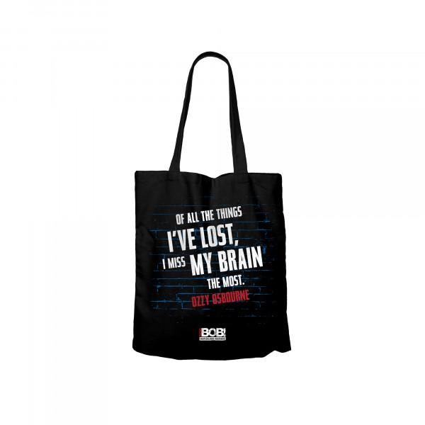 """RADIO BOB! - Beutel """"I miss my Brain"""""""