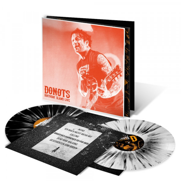 Donots LP - Birthday Slams Live (Neuauflage 2021) - Guido (limitiert) + signiert