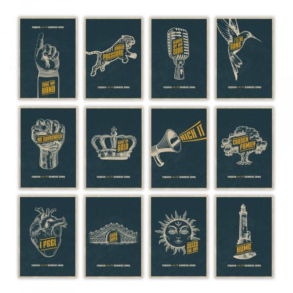 Tequila & The Sunrise Gang - Postkartenset