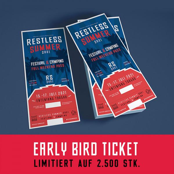 Restless Summer Festivalticket - 2021 Full Weekend (Early Bird)