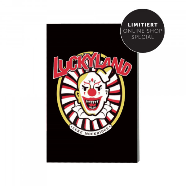 Kühlschrankmagnet - Clown