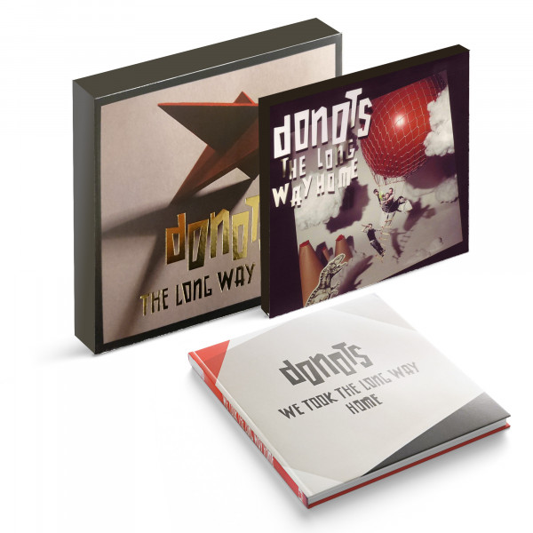 Donots CD - The Long Way Home (Limited-Version incl. Fotobuch) (2010)