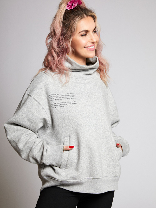 Self Care Club High-Neck Unisex Sweater