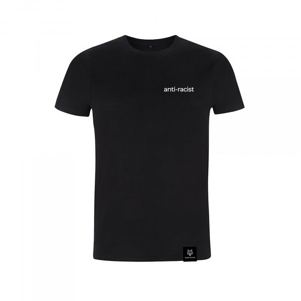 Unisex-Shirt - anti-racist (inkl. Spendenaktion für BLM)