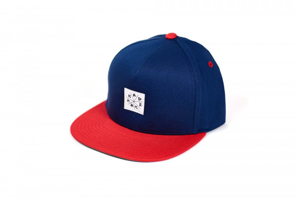 Rad Race Snapback - White Patched