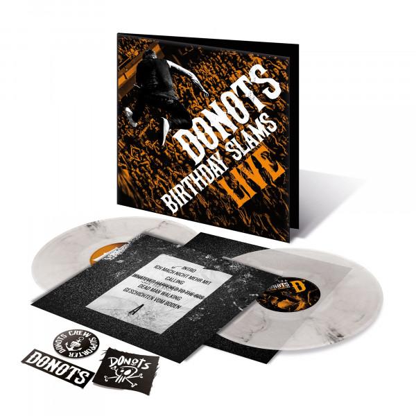 Donots LP - Birthday Slams Live, signiert (2LP Gatefold) (2020)