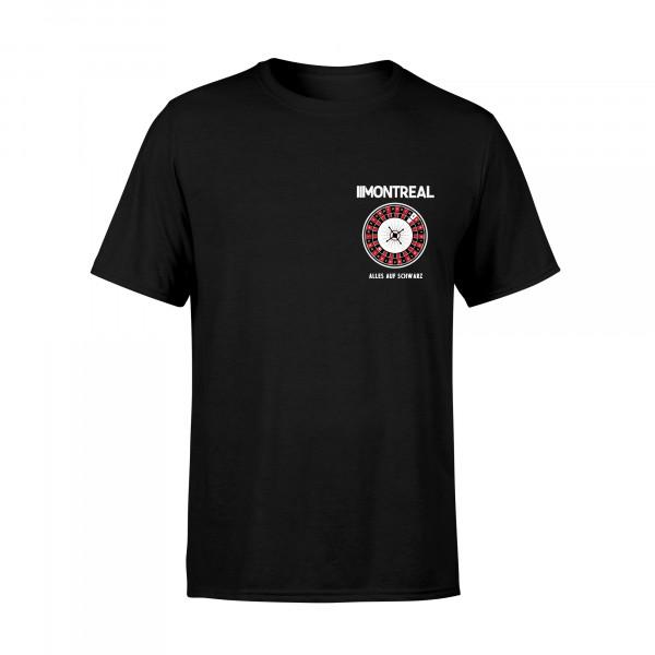 T-Shirt - Kessel, schwarz