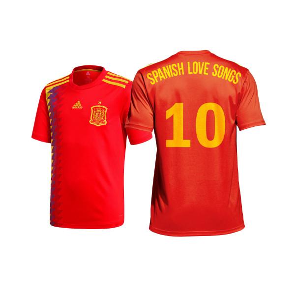Spanish Love Songs - Trikot/Soccer Jersey - Spain