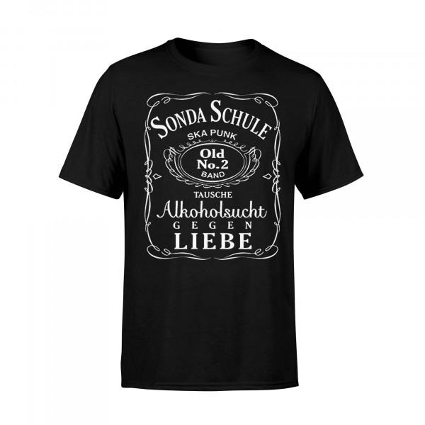 T-Shirt - Alkoholsucht