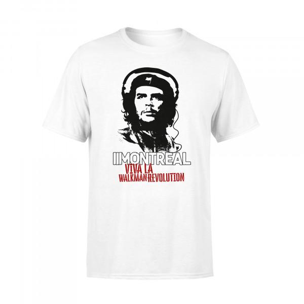T-Shirt - Viva La Walkmanrevolution, weiss