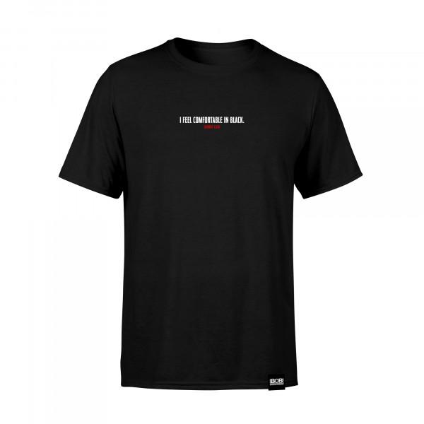 """RADIO BOB! Shirt - """"Comfortable in Black - Mini"""""""