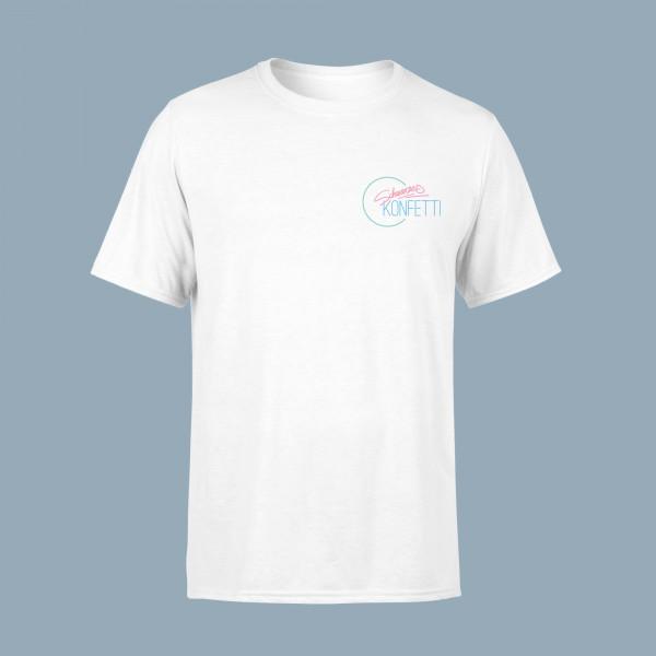 Schwarzes Konfetti Unisex Shirt - Swag