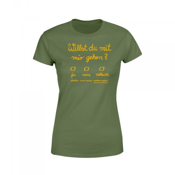 Frauen Shirt - Liebesbrief