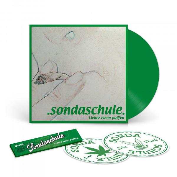 EP - Lieber Einen Paffen, 2002 (Ltd. grünes Vinyl 12'') - OHNE SIGNATUR