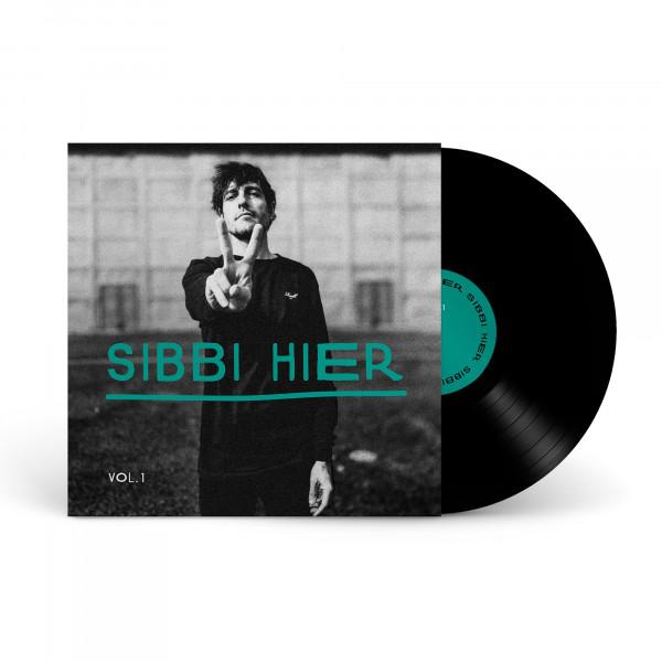 "Sibbi Hier - LP - Vol. 1 (12"" - Ltd. recyceltes Vinyl - Handsigniert)"
