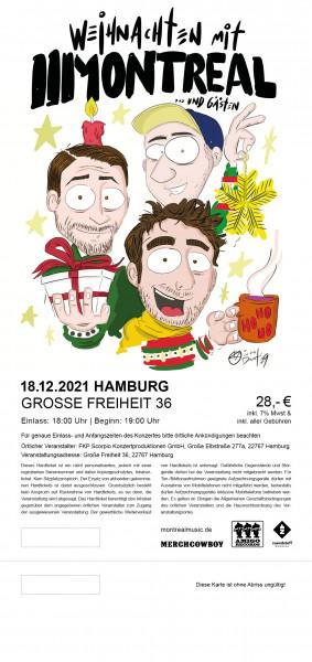 Hardticket - Hamburg, 18.12.2021