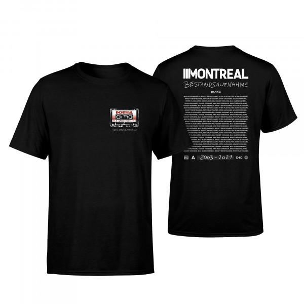 T-Shirt - Bestandsaufnahme, schwarz