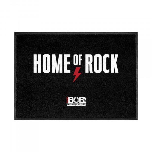 "RADIO BOB! - Fußmatte ""Home of Rock"""