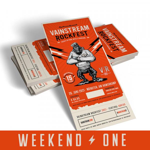 Vainstream Festivalticket Weekend One - 2022 (3. Preisstufe) SOLD OUT