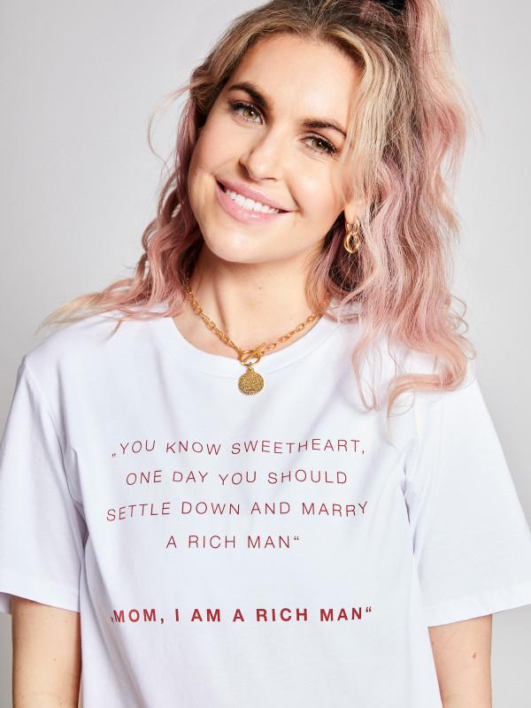 I Am A Rich Man Statement Unisex Shirt